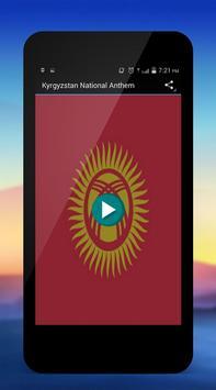 Kyrgyzstan National Anthem poster