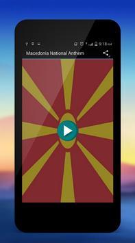Macedonia National Anthem poster