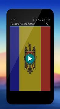 Moldova National Anthem poster