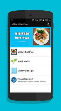 Military Diet poster