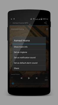 Asmaul Husna MP3 apk screenshot