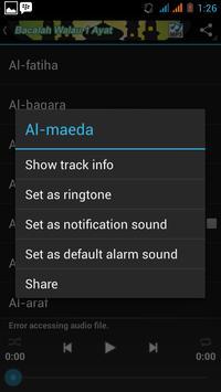 Al-Quran Listen Mp3 screenshot 2