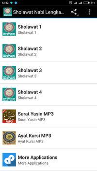 Sholawat Nabi Lengkap MP3-poster