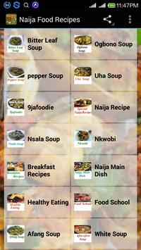 Nigerian food apk download free food drink app for android nigerian food poster forumfinder Images