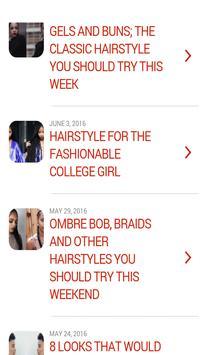 African Hairstyles screenshot 1