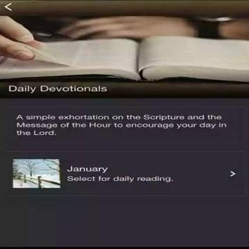 Pat Robertson Daily Devotional poster