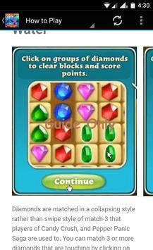 Guide for Diamond Digger Saga apk screenshot