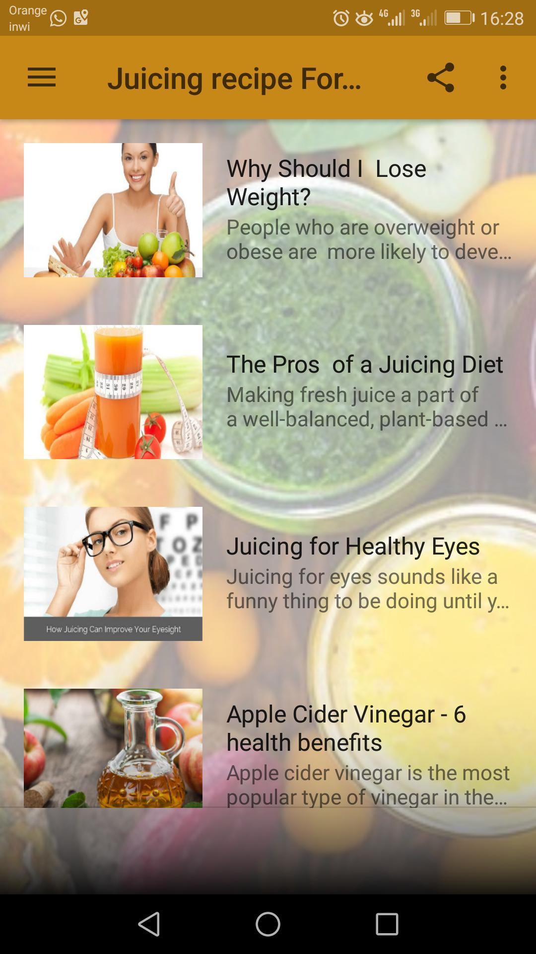 Juicing For Weight Loss 30 Days Challenge For Android Apk Download