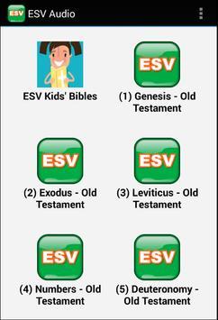 Audio Bible (ESV) Free App. poster