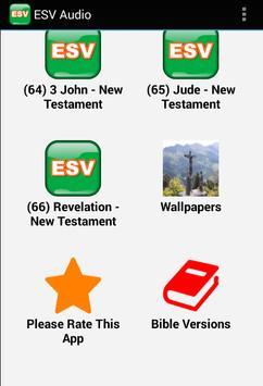 Audio Bible (ESV) Free App. screenshot 1