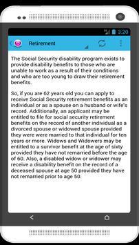 Social Security apk screenshot