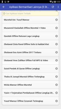 Offline Gus Azmi Sholawat Syubbanul Muslimin Baru screenshot 7