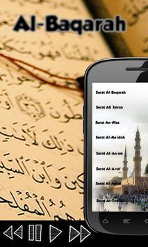 Al Baqarah By Salah al-Budair poster