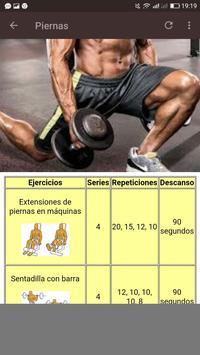 Fitness. Rutinas para el Gym screenshot 7