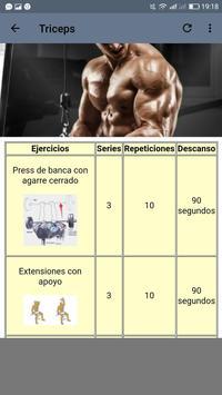 Fitness. Rutinas para el Gym screenshot 5