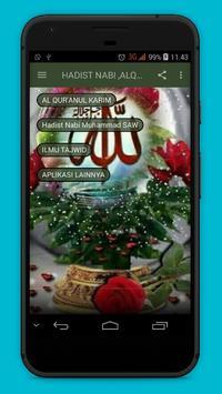 Hadits Nabi ,Quran & Tajwid apk screenshot