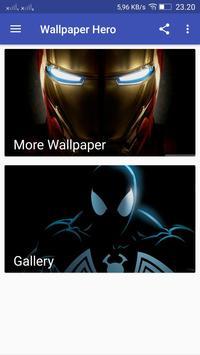 Superheroes Wallpaper HD screenshot 1