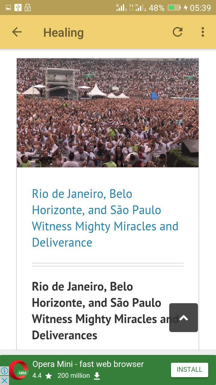 Benny Hinn Sermons for Android - APK Download