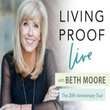 Living Proof Ministries - Beth Moore poster