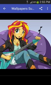 Wallpapers Sunset Shimmer Style screenshot 3