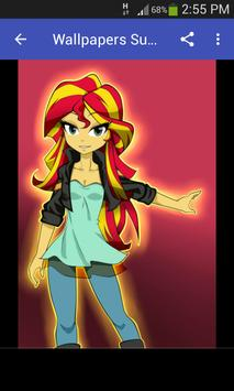 Wallpapers Sunset Shimmer Style screenshot 2
