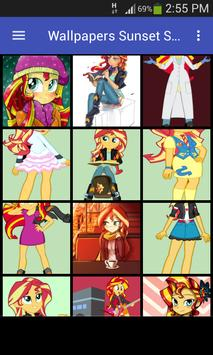 Wallpapers Sunset Shimmer Style screenshot 5