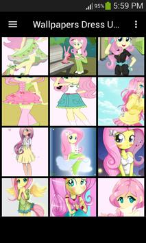 Live Wallpapers Fluttershy Style poster