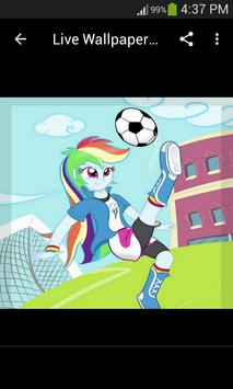 Live Wallpapers Rainbow Dash Style screenshot 3