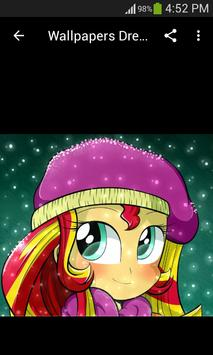 Live Wallpapers Sunset Shimmer Style screenshot 3