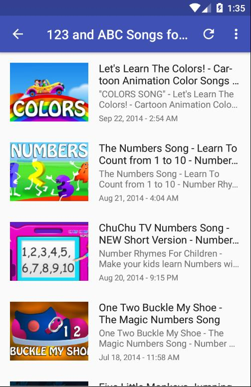 New ABC Song - Funny Learning Videos for Android - APK Download