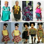 Ankara kids fashion dress 2018/2019 icon