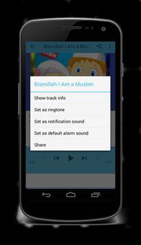 Islamic Songs for Kids Offline screenshot 2