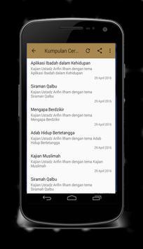 Ceramah Ust Arifin Ilham Mp3 screenshot 1