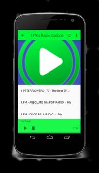 Free 70s Radio screenshot 1