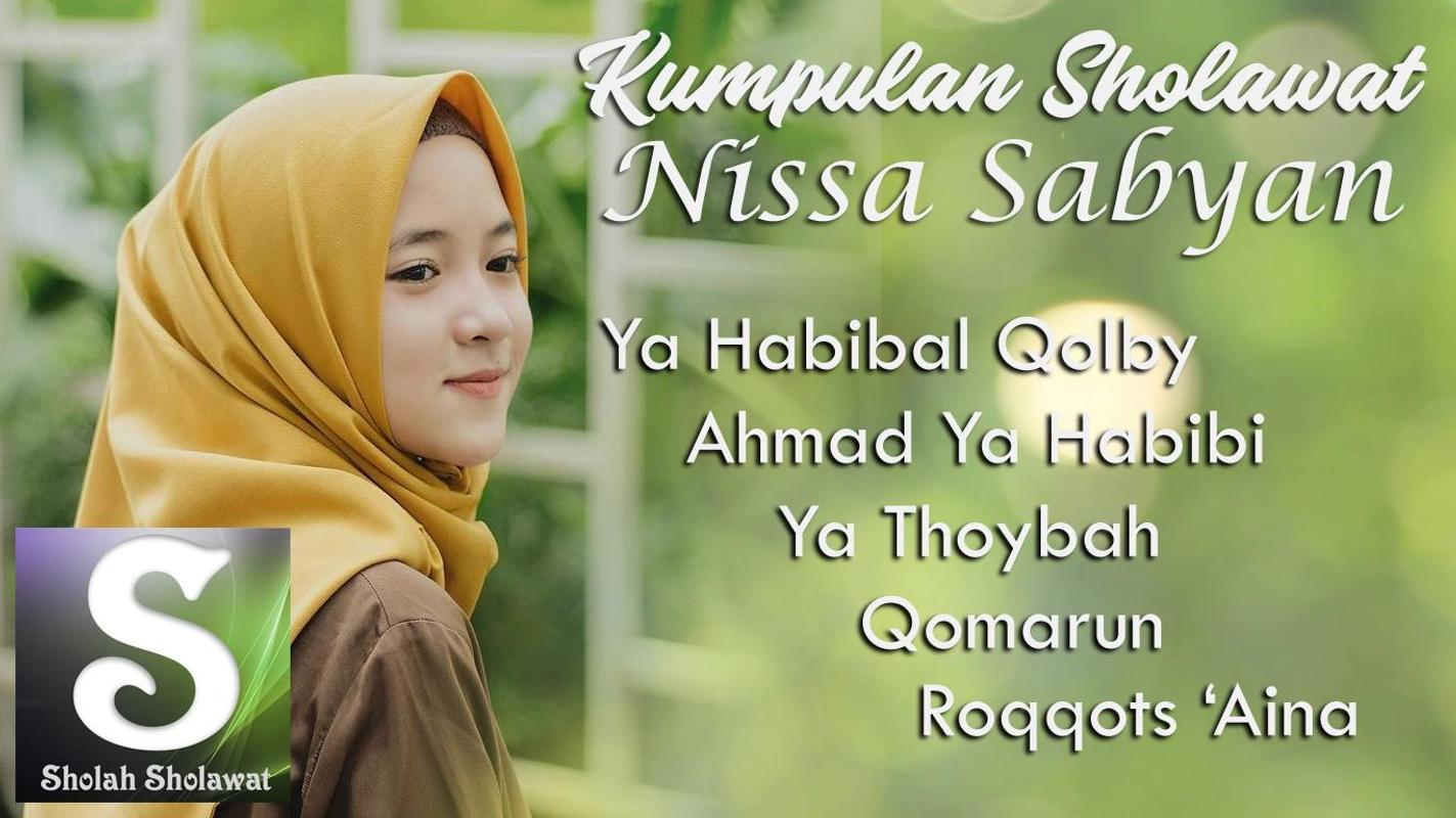 New Release Nissa Sabyan Mp3 Hits Spesial Ramadhan For Android Apk