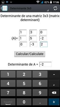 Determinant apk screenshot