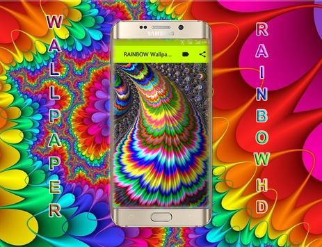 BEST WALLPAPER RAINBOW HD 2018 screenshot 3