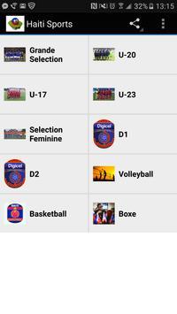 Haiti Sports apk screenshot