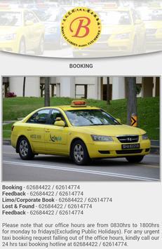 Boon Lay Taxi Services screenshot 1