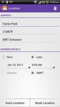 Cabbie - Taxi Cab Booking screenshot 1