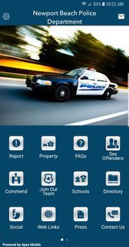 Newport Beach Police poster