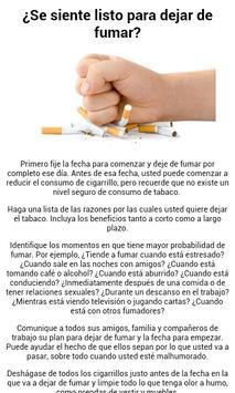 Cómo dejar de fumar apk screenshot