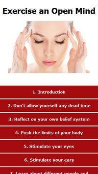 Exercise an Open Mind poster
