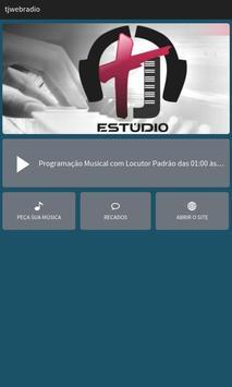 TJ Estúdio Web Rádio poster