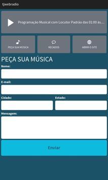 TJ Estúdio Web Rádio screenshot 1
