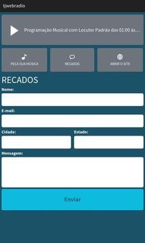 TJ Estúdio Web Rádio screenshot 2