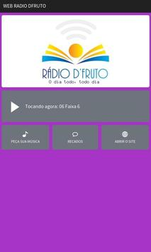 Rádio Web D'Fruto poster