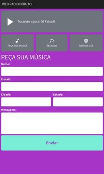 Rádio Web D'Fruto screenshot 1