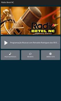 Rádio Betel NC poster