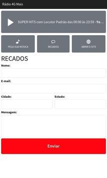 Rádio 4G Mais screenshot 2